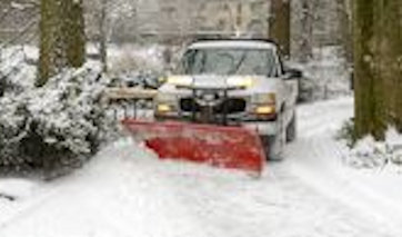 Snow removal services by Sprigs & Twigs