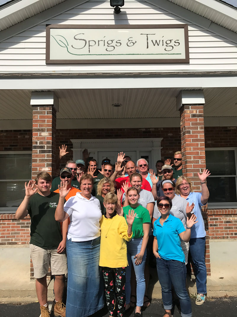 The team at Sprigs & Twigs